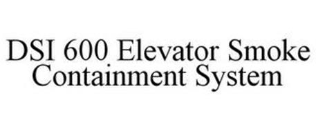 DSI-600 ELEVATOR SMOKE CONTAINMENT SYSTEM