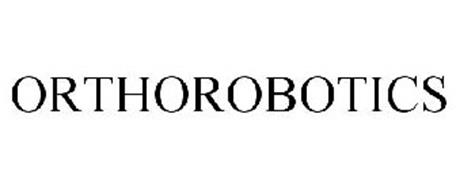 ORTHOROBOTICS