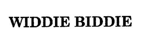 WIDDIE BIDDIE
