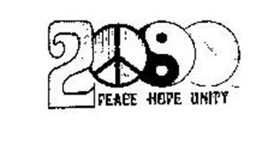 2000 PEACE HOPE UNITY