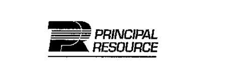 PR PRINCIPAL RESOURCE