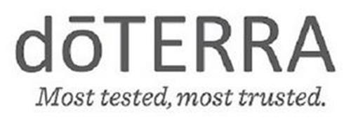 DOTERRA MOST TESTED, MOST TRUSTED.