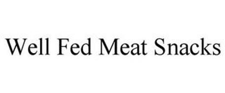 WELL FED MEAT SNACKS