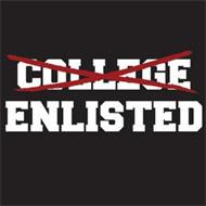 COLLEGE ENLISTED