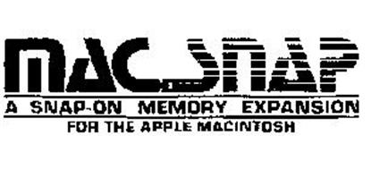 MACSNAP A SNAP-ON MEMORY EXPANSION FOR THE APPLE MACINTOSH