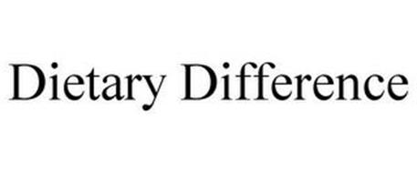 DIETARY DIFFERENCE