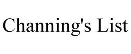CHANNING'S LIST