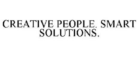 CREATIVE PEOPLE. SMART SOLUTIONS.