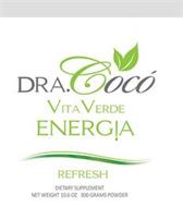 DRA.COCO' VITA VERDE ENERG!A REFRESH DIETARY SUPPLEMENT