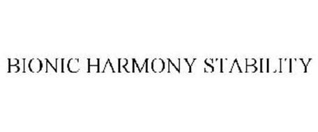 BIONIC HARMONY STABILITY