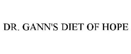 DR. GANN'S DIET OF HOPE