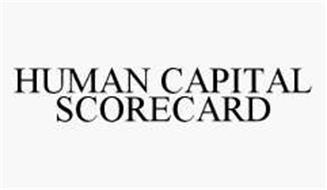 HUMAN CAPITAL SCORECARD