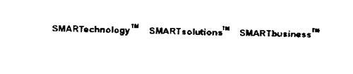 SMARTECHNOLOGY SMARTSOLUTIONS SMARTBUSINESS
