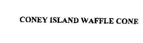 CONEY ISLAND WAFFLE CONE