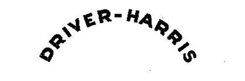 DRIVER-HARRIS