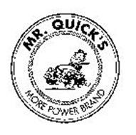 MR.  QUICK'S MORE POWER BRAND