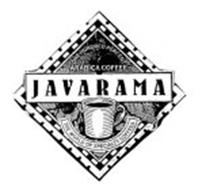 JAVARAMA ONE HUNDRED PERCENT ARABICA COFFEE THE WORLD OF SPECIALTY COFFEES