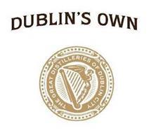 DUBLIN'S OWN GREAT DISTILLERIES OF DUBLIN CITY