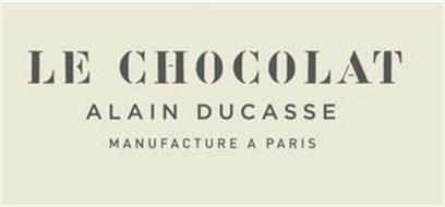 LE CHOCOLAT ALAIN DUCASSE MANUFACTURE APARIS