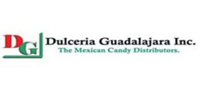 DG DULCERIA GUADALAJARA INC. THE MEXICAN CANDY DISTRIBUTORS.