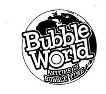 BUBBLE WORLD ANYTIME IS BUBBLE TIME