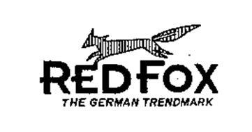 RED FOX THE GERMAN TRENDMARK