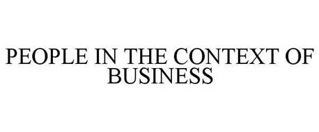 PEOPLE IN THE CONTEXT OF BUSINESS