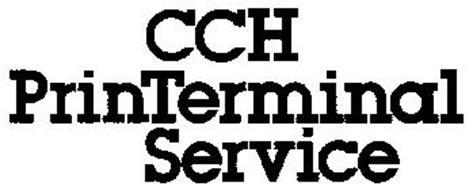 CCH PRINTERMINAL SERVICE