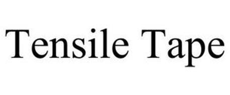 TENSILE TAPE