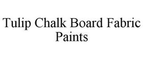 TULIP CHALK BOARD FABRIC PAINTS