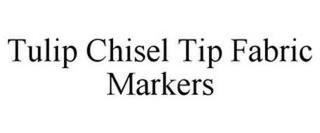 TULIP CHISEL TIP FABRIC MARKERS