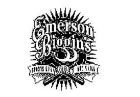 EMERSON BIGGIN'S SPORTS BAR EB BRAND AND GRILL