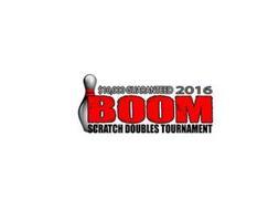 $10,000 GUARANTEED 2016 BOOM SCRATCH DOUBLES TOURNAMENT
