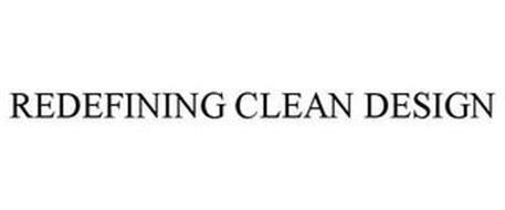 REDEFINING CLEAN DESIGN