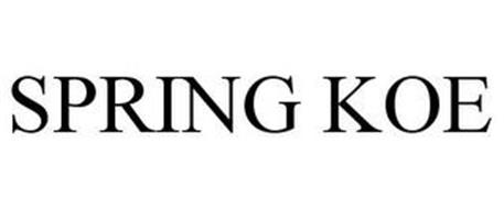 SPRING KOE
