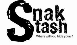 SNAK STASH WHERE WILL YOU HIDE YOURS?