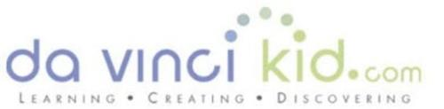 DA VINCI KID.COM LEARNING CREATING DISCOVERING