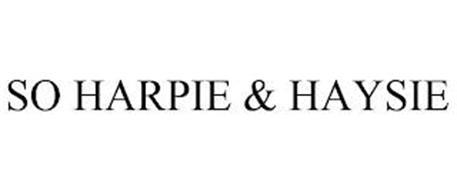 SO HARPIE & HAYSIE