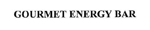 GOURMET ENERGY BAR