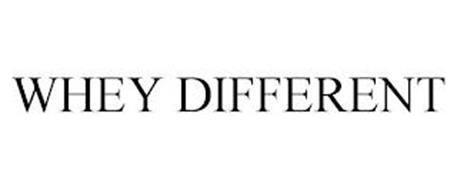 WHEY DIFFERENT