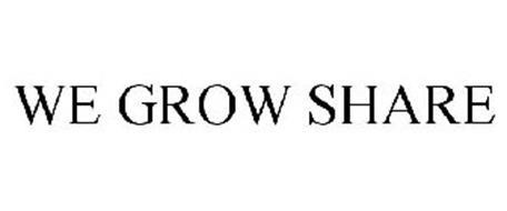 WE GROW SHARE