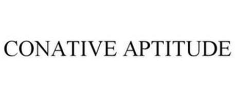 CONATIVE APTITUDE
