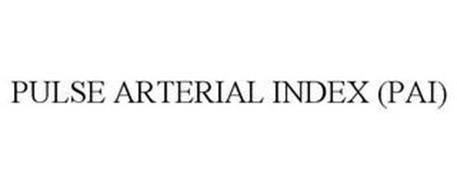 PULSE ARTERIAL INDEX (PAI)