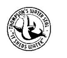 "THOMPSON'S WATER SEAL ""IT SHEDS WATER"""