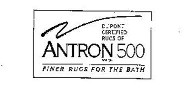 DU PONT CERTIFIED RUGS OF ANTRON 500 NYLON FINER RUGS FOR THE BATH