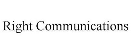 RIGHT COMMUNICATIONS