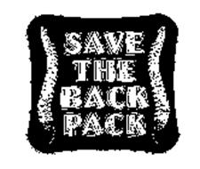 SAVE THE BACK PACK