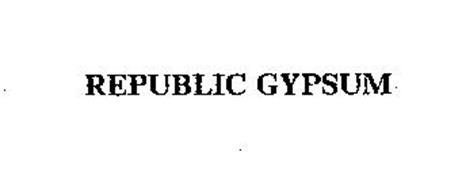 REPUBLIC GYPSUM