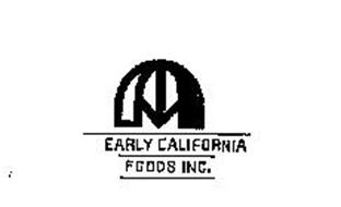 EARLY CALIFORNIA FOODS INC.