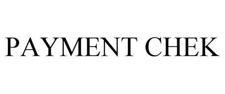 PAYMENT CHEK